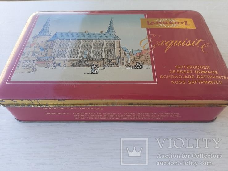Немецкая подарочная коробка для десертов (70 -80 лет), фото №3