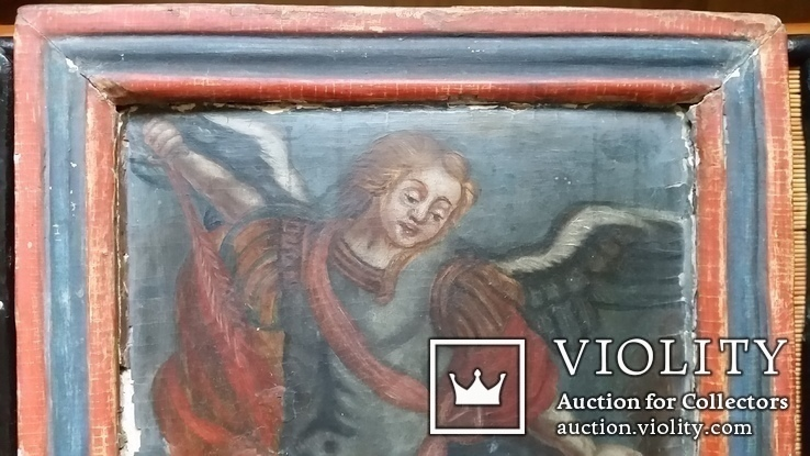 Ікона Архангел Михаїл, 32х25,7 см, фото №3
