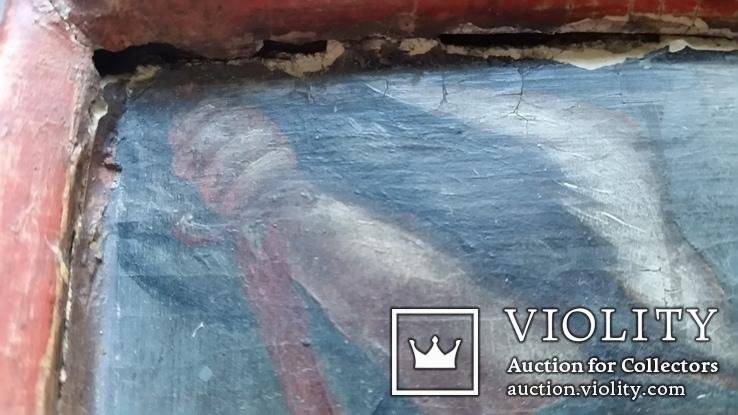 Ікона Архангел Михаїл, 32х25,7 см, фото №8