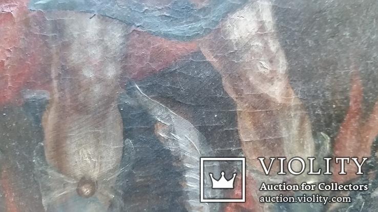 Ікона Архангел Михаїл, 32х25,7 см, фото №9