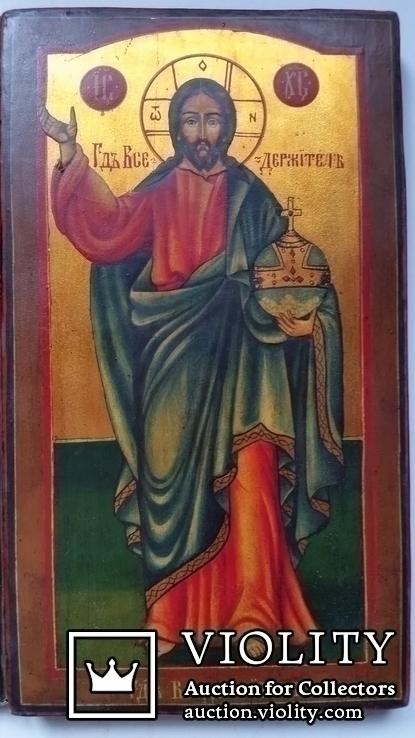 Ікона Ісус Христос, 84* 1853, Орлов Д.І., 25х14,5 см, фото №4