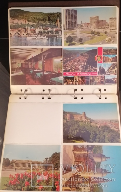 Фотоальбом та 79 чистих листівок. Тематика міста різних країн, фото №9