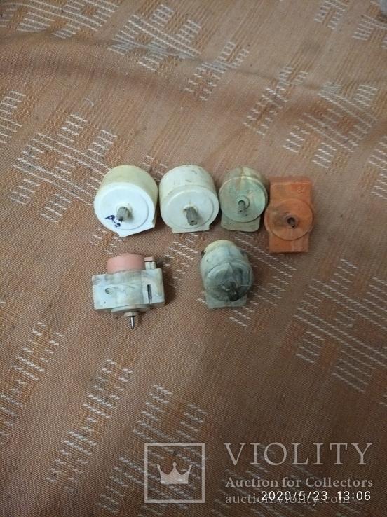 Микродвигатели времён СССР