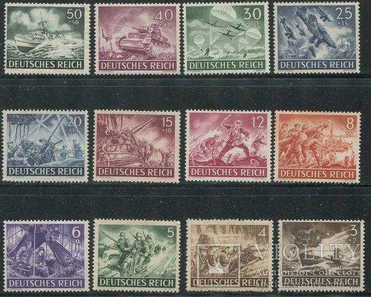 1943 Рейх полный годовой комплект - все марки