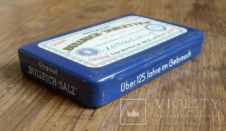 "Жестяная коробка с таблеток ""Bullrich tabletten"", фото №9"
