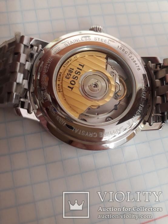 Часы TISSOT AUTOMATIC ref.T045.407.11.033.00, фото №6