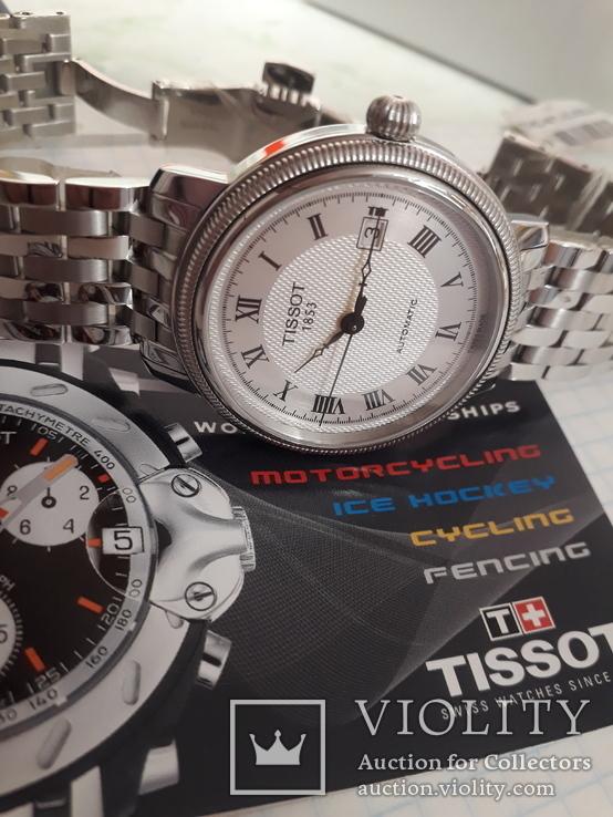 Часы TISSOT AUTOMATIC ref.T045.407.11.033.00, фото №7