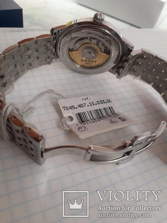 Часы TISSOT AUTOMATIC ref.T045.407.11.033.00, фото №9
