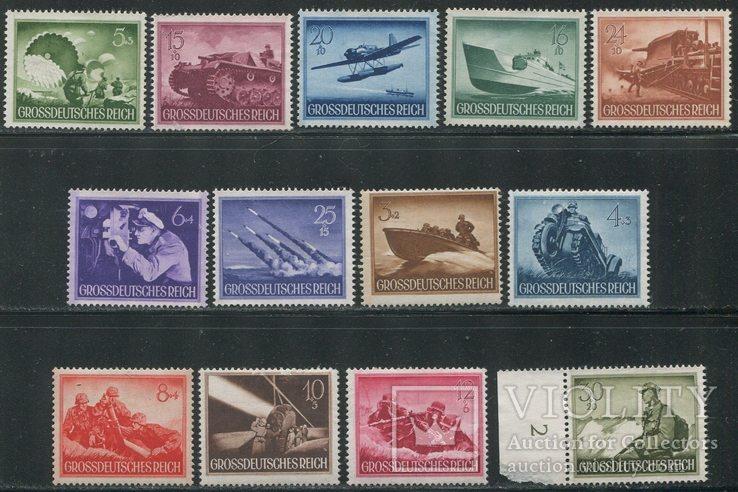 1944 Рейх полный годовой комплект - все марки