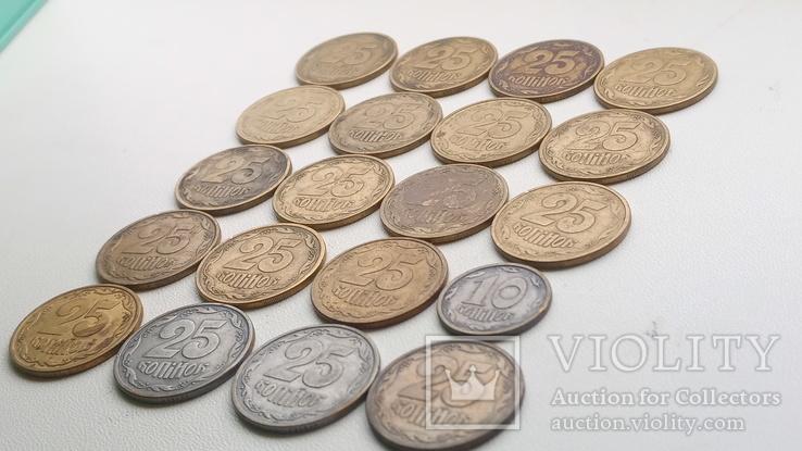 20 монет 1996 р., 19 -25 і 1- 10., фото №4