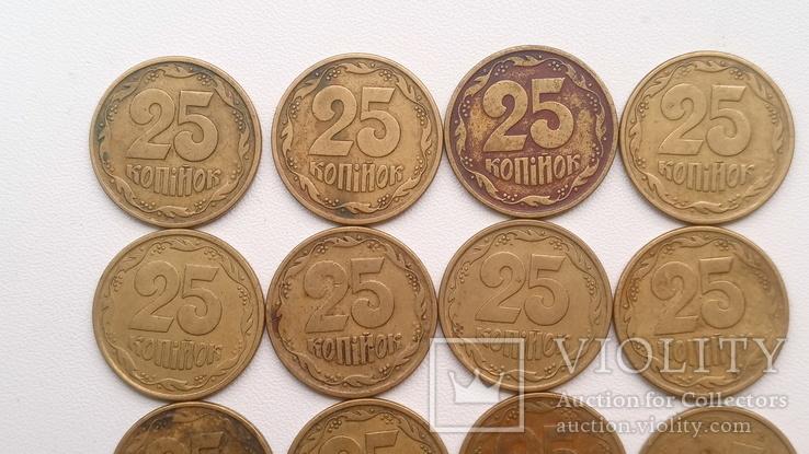 20 монет 1996 р., 19 -25 і 1- 10., фото №7