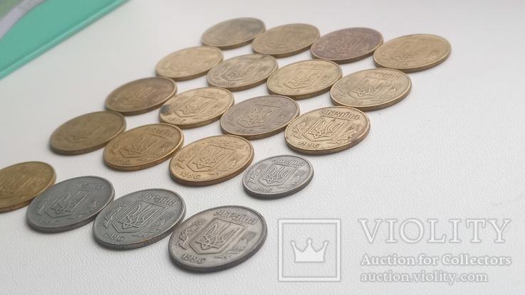 20 монет 1996 р., 19 -25 і 1- 10., фото №9
