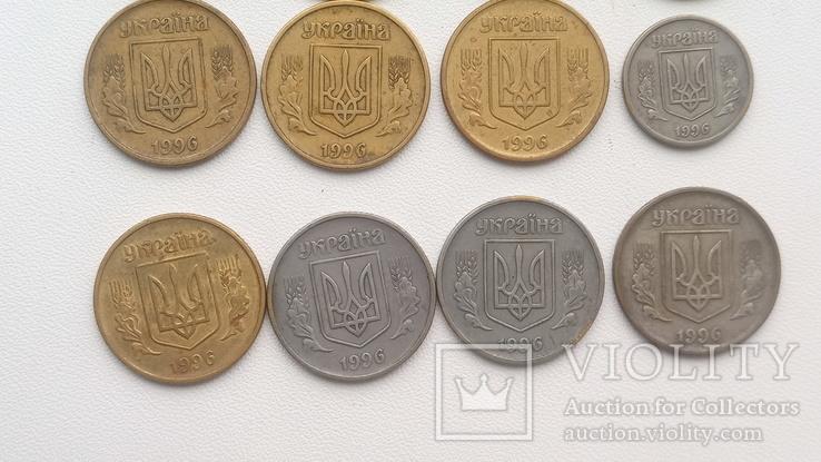 20 монет 1996 р., 19 -25 і 1- 10., фото №10