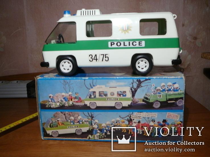 Машина полиции. Германия 1980-е годы., фото №2