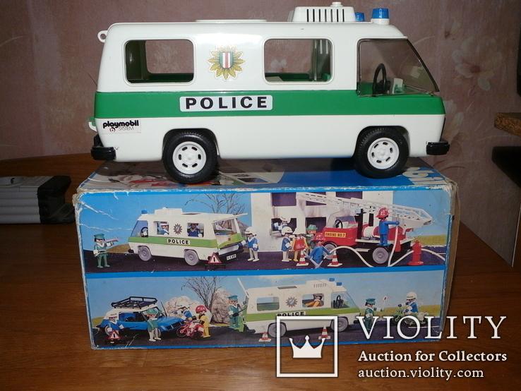 Машина полиции. Германия 1980-е годы., фото №3