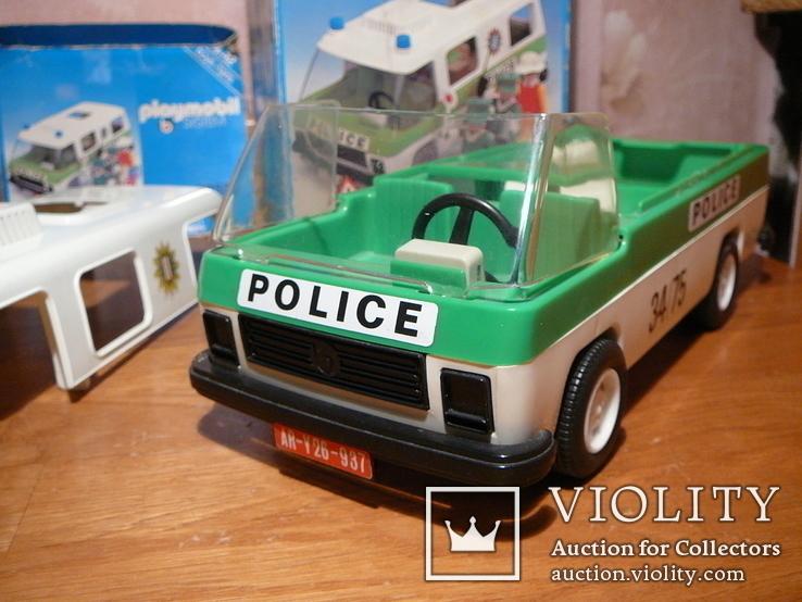 Машина полиции. Германия 1980-е годы., фото №8