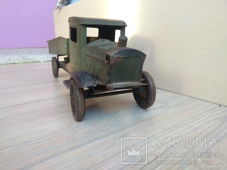 Большой железный грузовик ЗИС ЗИЛ СССР