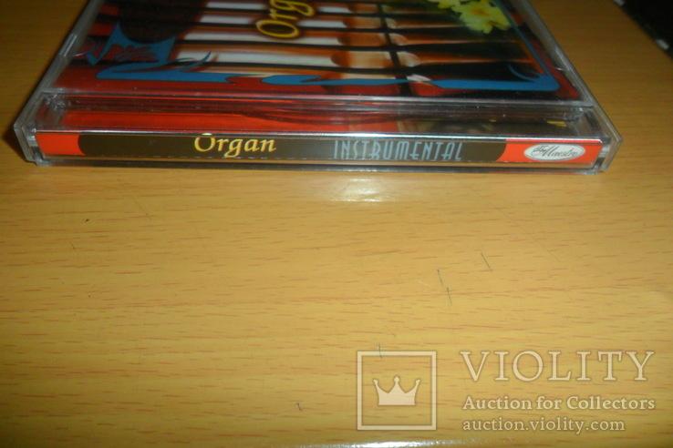 Диск CD сд Орган Organ The Maestro Instrumental, фото №3