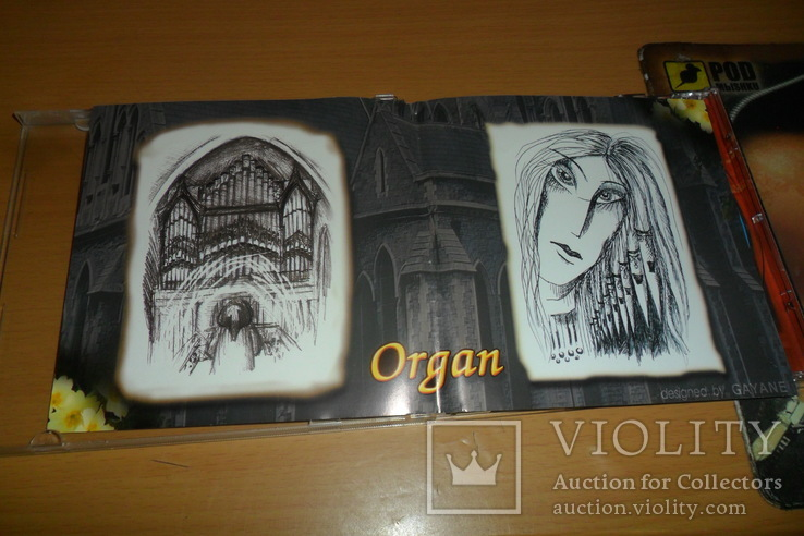 Диск CD сд Орган Organ The Maestro Instrumental, фото №6