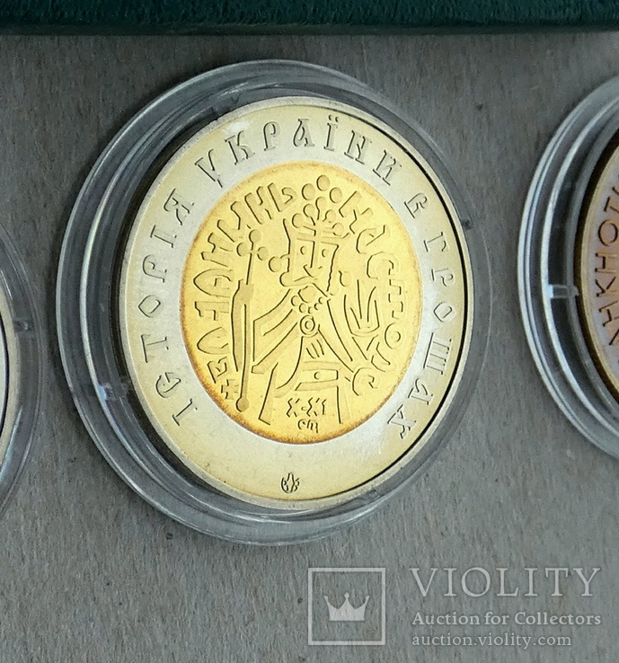 Жетони та медаль НБУ / Графічний знак, Златник, 2003, пам'ятна медаль /, фото №4
