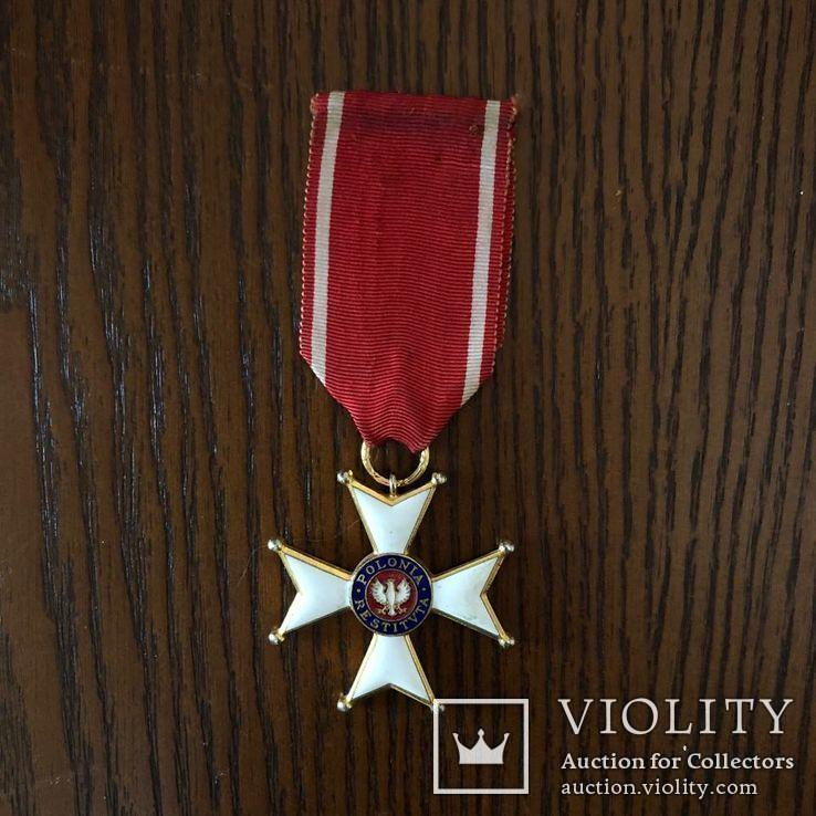 Польша Крест 1944 г Орден Возрождения Польши, фото №2
