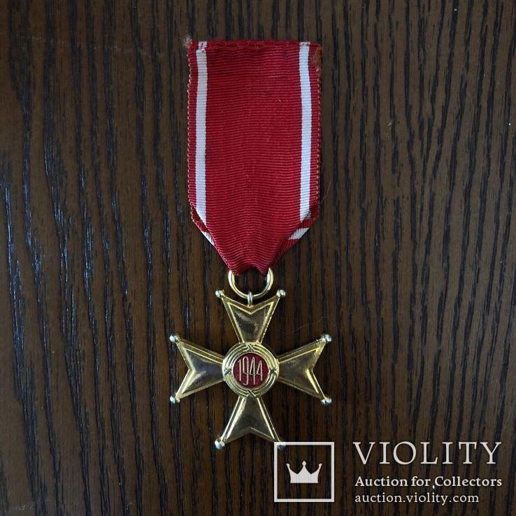 Польша Крест 1944 г Орден Возрождения Польши, фото №3