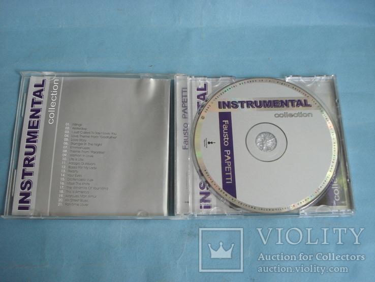 "Fausto PAPETTI ""Insnrumental"" CD, фото №3"