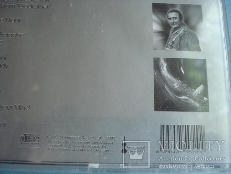 "Fausto PAPETTI ""Insnrumental"" CD, фото №6"