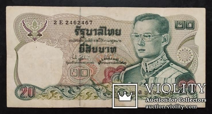 20 бат Таиланд 1981 год., фото №2