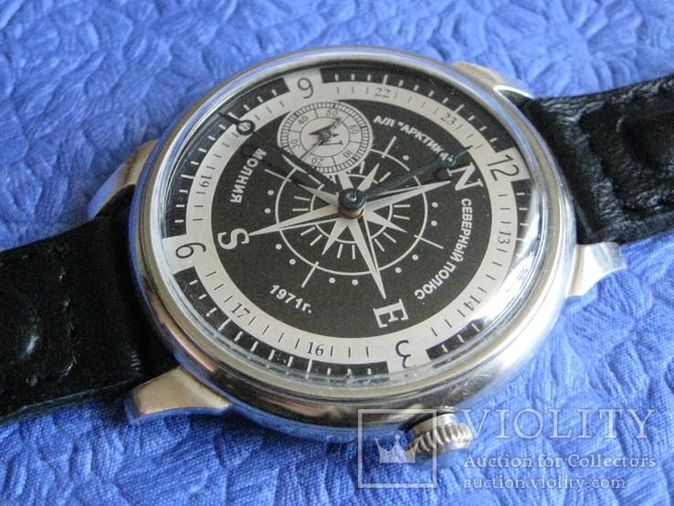 Часы Молния 3602 Компас Рабочие на ремешке, фото №6