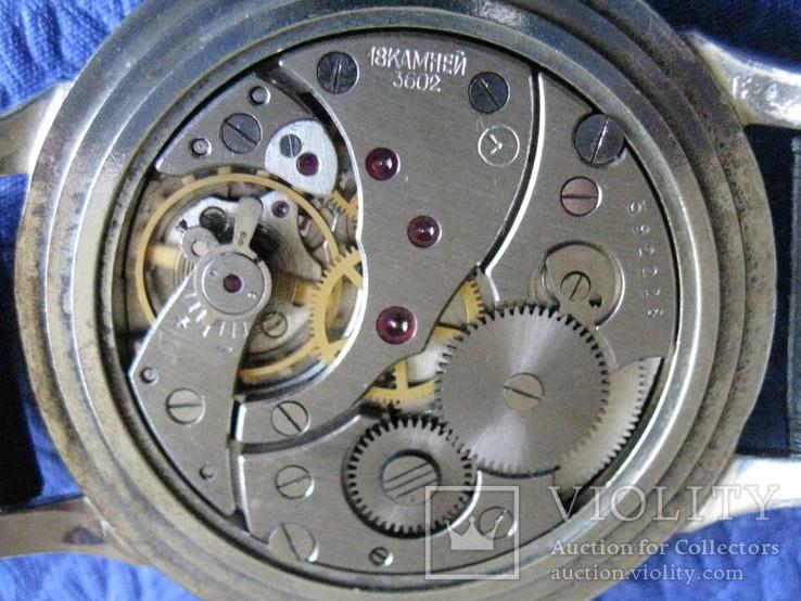 Часы Молния 3602 Компас Рабочие на ремешке, фото №9