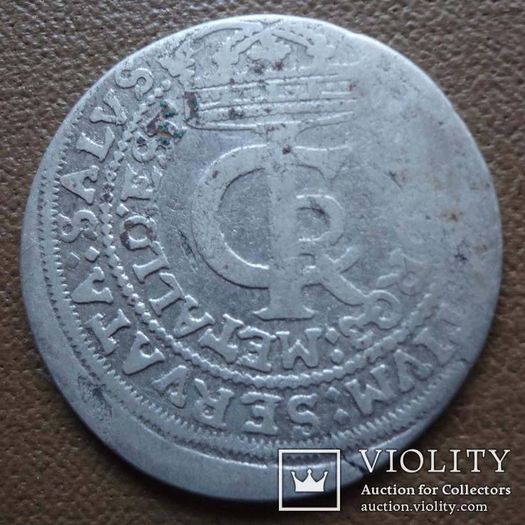 Тымф 30 грош 1664   серебро (Я.4.4)~, фото №5