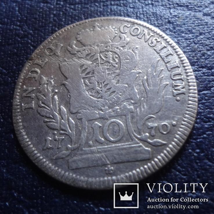 10 крейцеров 1770  Германия  серебро     (Я.8.3)~, фото №3