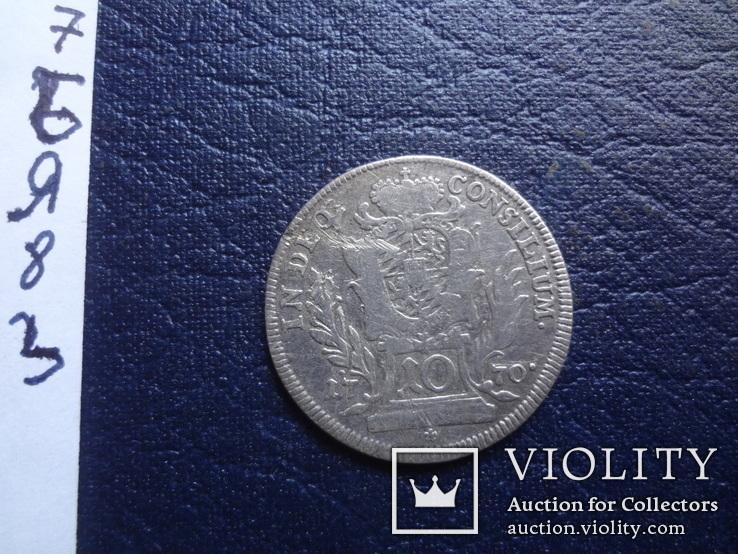 10 крейцеров 1770  Германия  серебро     (Я.8.3)~, фото №6
