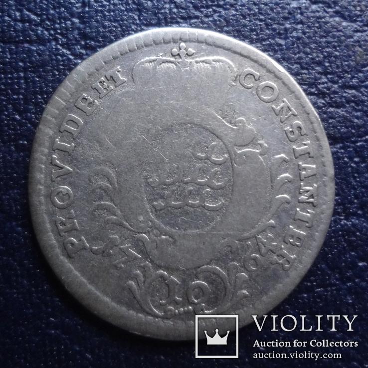 10 крейцеров 1764  Германия  серебро     (Я.8.2)~, фото №2