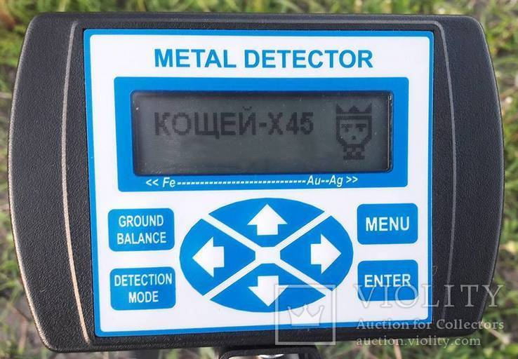 Металлоискатель Кощей X45 Carbon Pro с катушкой Nel Tornado, фото №3