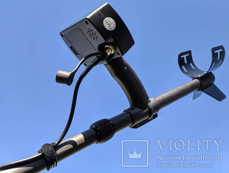 Металлоискатель Кощей X45 Carbon Pro с катушкой Nel Tornado, фото №7