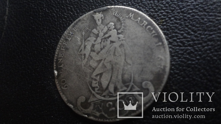 20  крейцеров  1763  Вюрцбург  серебро  (G.5.2)~, фото №3