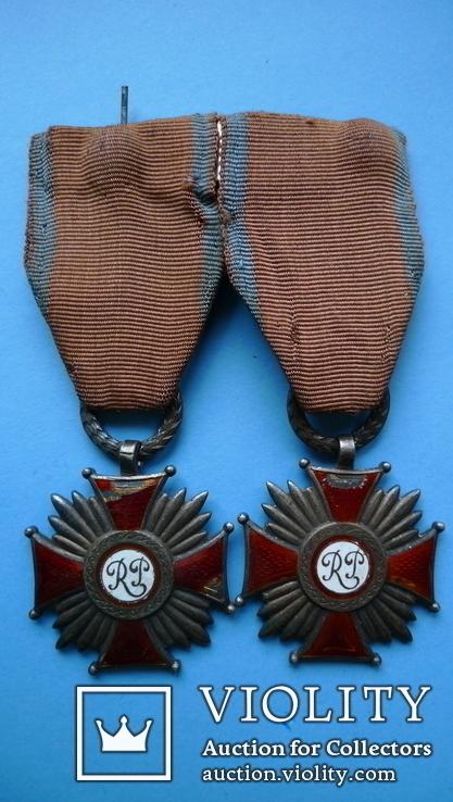 Крест Заслуги RP (2 шт. в родном сборе), фото №6