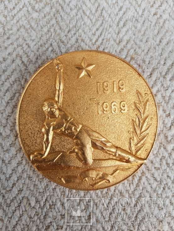 Настольная медаль., фото №3