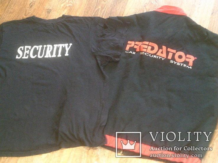 Комплект predator securitas (куртка,жилетка,футболка) разм.L, фото №6
