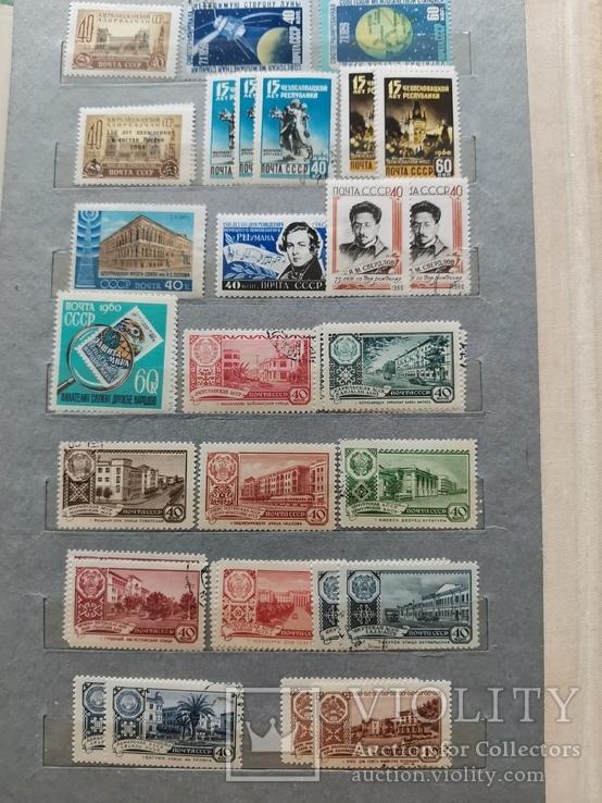 Марки СССР 1960-1962 гг Неполные годы, фото №3