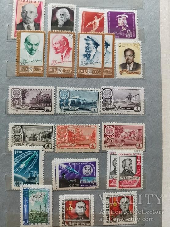Марки СССР 1960-1962 гг Неполные годы, фото №11