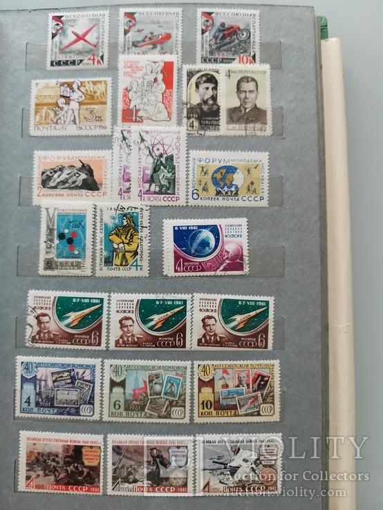Марки СССР 1960-1962 гг Неполные годы, фото №12