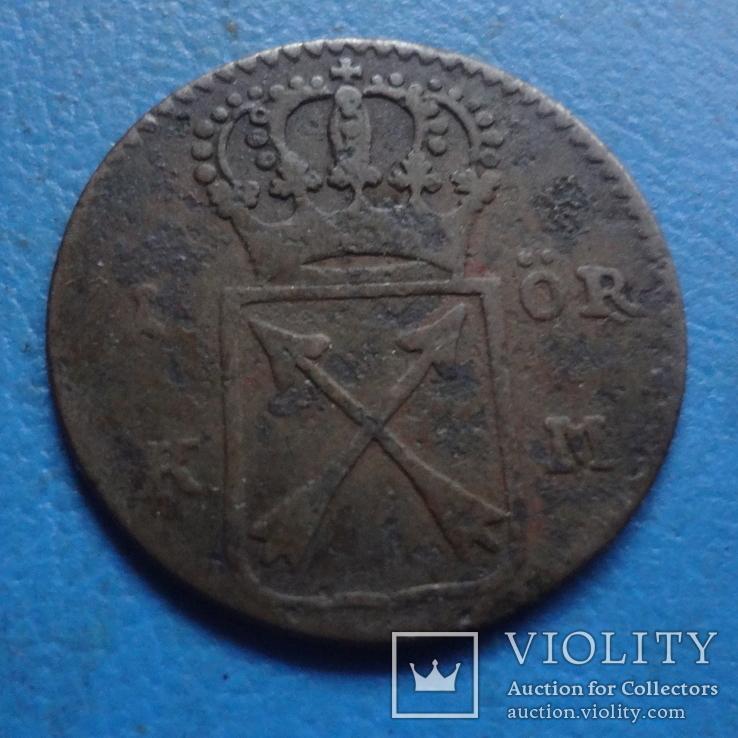 1  эре  1710  Дания  (5.4.4) ~, фото №2