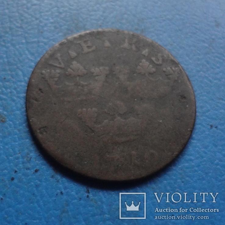 1  эре  1710  Дания  (5.4.4) ~, фото №4