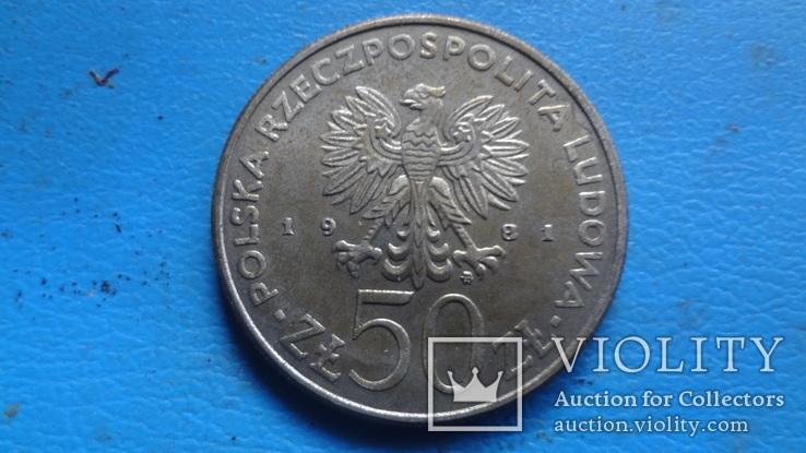50  злотых  1981  Польша   (5.3.4)~, фото №3