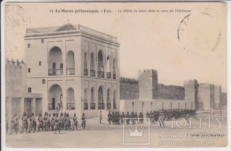 Живописное Марокко. Парад таборов во дворе Мешуара., фото №2