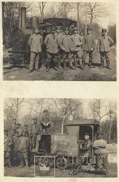 Шильда от паровоза полевой узкоколейки.Австро-Венгрия., фото №7