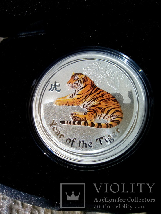 1 доллар Год тигра 2010, фото №2